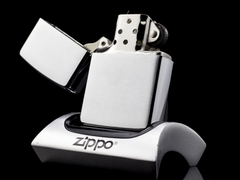 Zippo Cổ Brushed Chrome 8 Gạch 1966 4