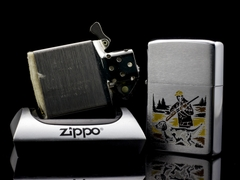 Zippo Cổ Hunter And Dog 2 Gạch Thẳng 1972 8