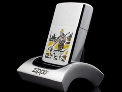Zippo Cổ Hunter And Dog 2 Gạch Thẳng 1972 2