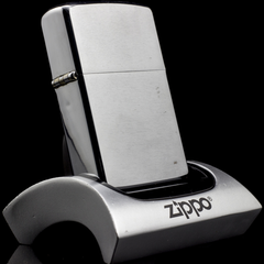 Zippo Cổ Brushed Chrome 8 Gạch 1974