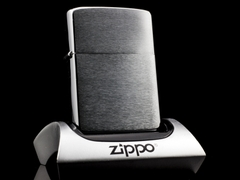 Zippo Cổ Brushed Chrome 1961 5 Chấm 1