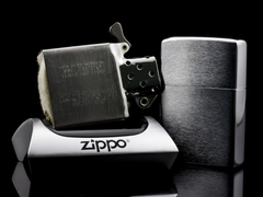 Zippo Cổ Brushed Chrome 1961 5 Chấm 8