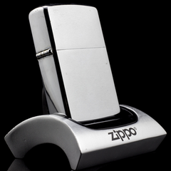 Zippo Cổ Brushed Chrome 1965 1 chấm