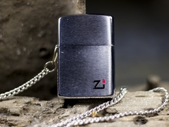 Zippo Cổ Brushed Chrome 1 Gạch 1980 8