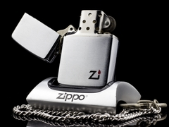 Zippo Cổ Brushed Chrome 1 Gạch 1980 5