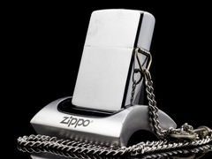 Zippo Cổ Brushed Chrome 1 Gạch 1980 3