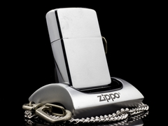 Zippo Cổ Brushed Chrome 1 Gạch 1980 4