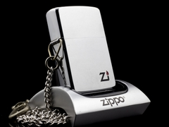 Zippo Cổ Brushed Chrome 1 Gạch 1980 1