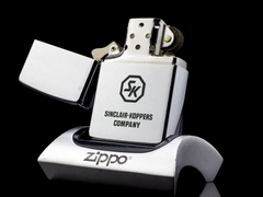 Zippo Cổ Sinclair-Koppers Company 1971 3 Gạch Thẳng 4
