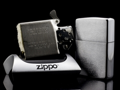 Zippo Cổ Brushed Chrome 8 Gạch 1966 8