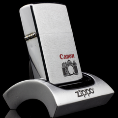 Zippo Cổ Canon Brushed Chrome 1976 6 Gạch