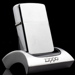 Zippo Cổ Brushed Chrome 4 Gạch 1986