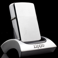 Zippo Cổ Brushed Chrome 4 Gạch 1978