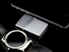 Zippo Cổ Brushed Chrome 4 Gạch 1986 7