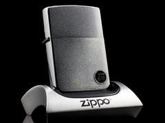 Zippo Cổ Brushed Chrome 8 Gạch 1974 1