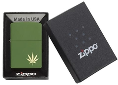 Zippo  MarijuanaLeaf on the Side 29588 3