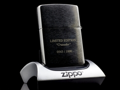 Zippo templer Crusader Limited Edition 2013 5