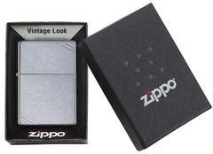 Zippo Street Chrome Vintage with Slashes 267 4