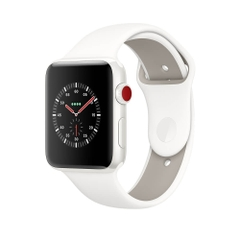 Apple Watch Series 3 Editon White Ceramic 42mm Sport Band ( 99% full box )