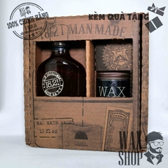 Gift Set 1821 Man Made Wash & Wax