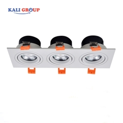Downlight 3 bóng ELV803E-M 36w