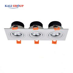 Downlight 3 bóng ELV803E-M 21w
