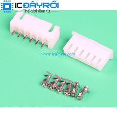 6P-XH2.54MM connector plug+socket