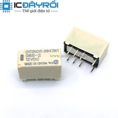 Relay Omron G6S-2-12VDC
