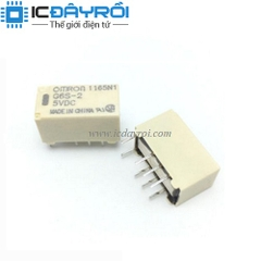 Relay Omron G6S-2-5VDC
