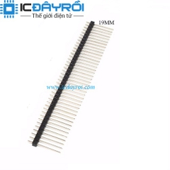 Header 1X40-2.54MM-19MM Male