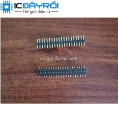 Header 2X20-1.27MM male SMD