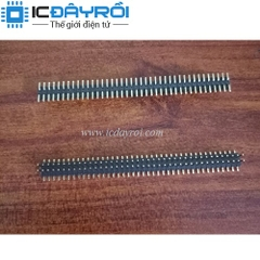 Header 2X40-1.27MM male SMD
