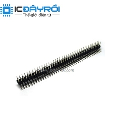 Header 2X40-2.54MM male RA