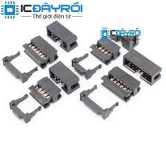 2.54mm 6-PIN IDC Socket Connector