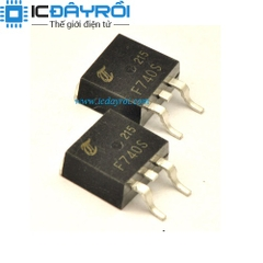IRF740NS MOSFET N-CH 10A 400V TO-263