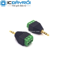 Jack audio 3.5mm 2 nấc ra domino