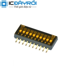 KE 1.27MM Dip Switch 10P