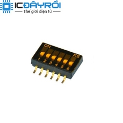 KE 1.27MM Dip Switch 6P