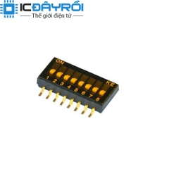 KE 1.27MM Dip Switch 8P