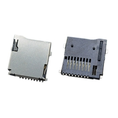 Micro SD Card Socket 9-Pin