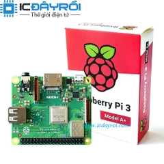 Raspberry Pi 3 Model A+ (UK version)