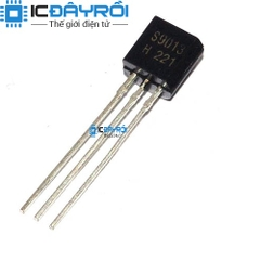 S9013 TO92 NPN 0.5A 20V