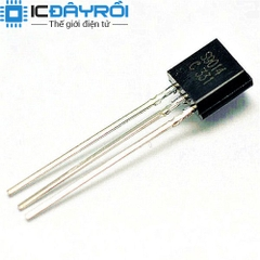 S9014 TRANS TO92 NPN 0.1A 45V