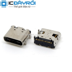 USB 3.1 Type C female socket