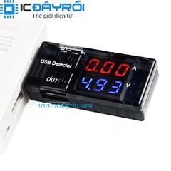 USB tester V2 đo điện áp và dòng điện