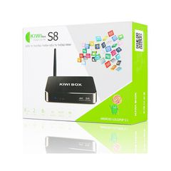 Android TV Box KIWI S8 lõi 8 - Android 5.1,RAM 2Gb