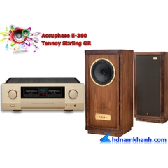 Bộ nghe nghe Amply Accuphase E-360 + Loa Tannoy Stirling GR