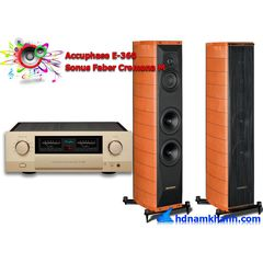 Bộ nghe nhạc Amply Accuphase E-360 + Loa Sonus Faber Cremona M