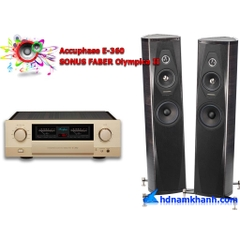 Bộ nghe nhạc Amply Accuphase E-360 + Loa SONUS FABER Olympica II