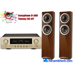 Bộ nghe nhạc Amply Accuphase E-260 + Loa Tannoy DC 8T